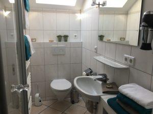 Heldes Ferienwohnung Haberberg - Badezimmer
