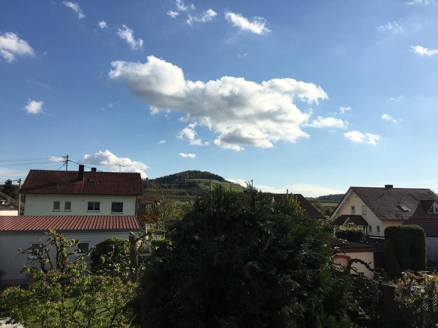 Heldes Ferienwohnung Hochberg - Ausblick vom Balkon